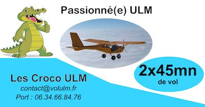 Passionné vol ULM